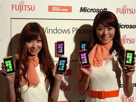 WIndowsPhone7.5 IS12T AU
